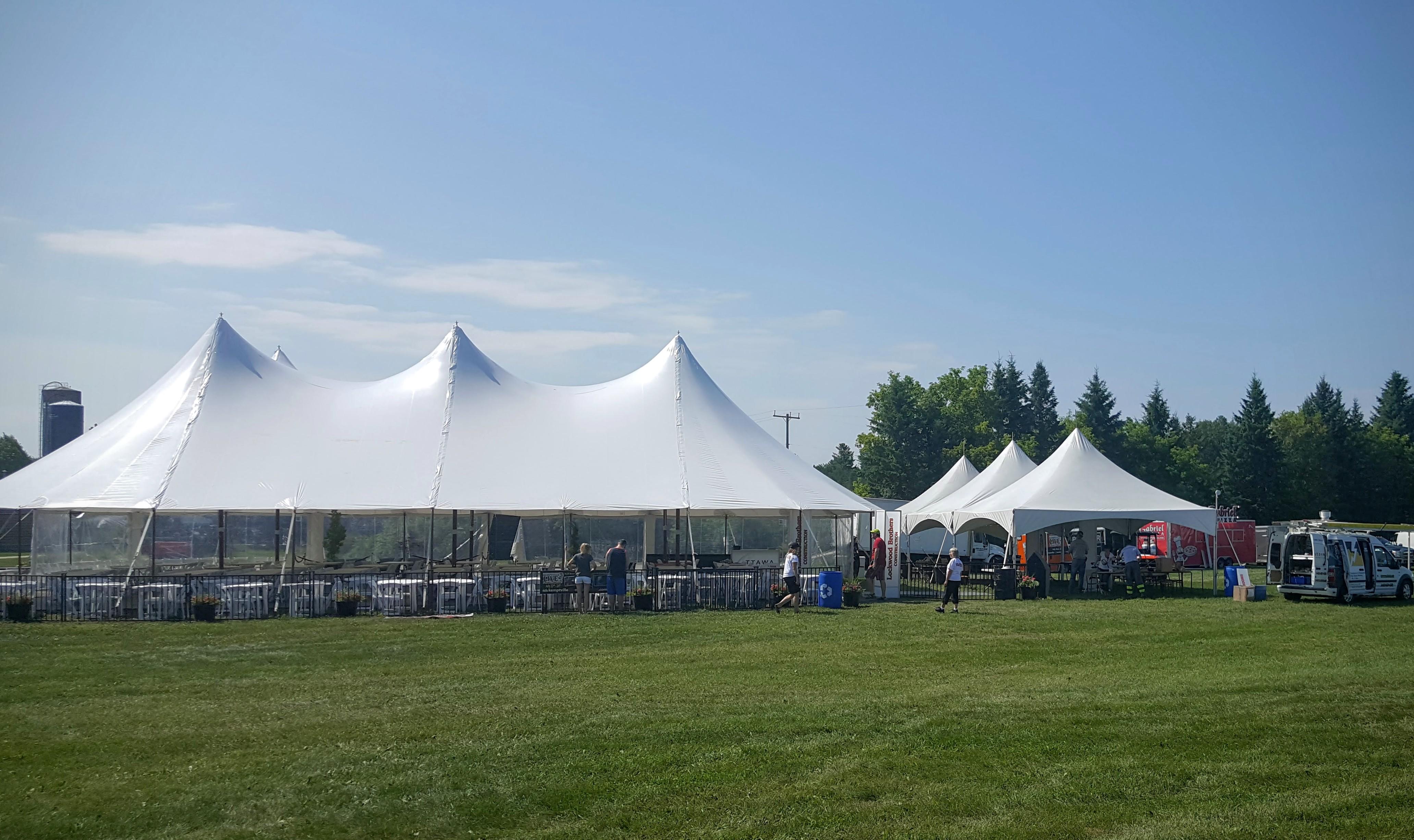 Photo Credit Drew Hosick - VIP Tent at Kemptville Live Music Festival & Kemptville Live Festival begins tonight - My Prescott Now