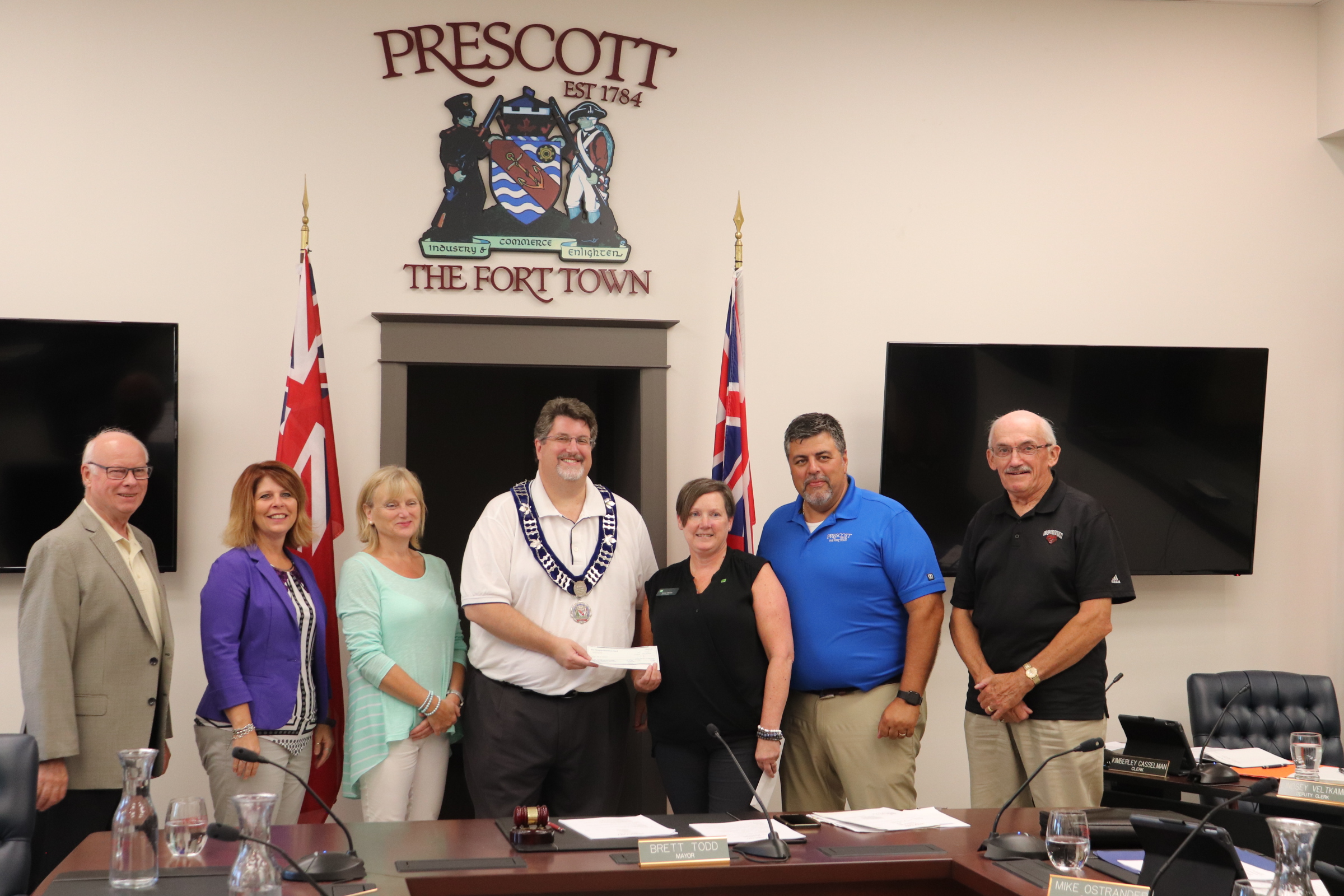 Prescott getting funding application ready for new arena